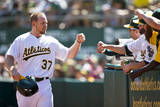 Sep 8, 2013, Houston Astros vs Oakland Athletics - Brandon Moss Photographic Print by Jason O. Watson