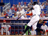 May 22, 2014, Philadelphia Phillies vs Miami Marlins - Giancarlo Stanton Photographic Print by Rob Foldy