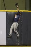 May 28, 2013, Minnesota Twins vs Milwaukee Brewers - Aaron Hicks Photographic Print by Mike McGinnis