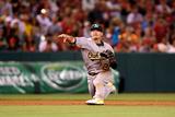 Jun 11, 2014, Oakland Athletics vs Los Angeles Angels of Anaheim - Josh Donaldson Photographic Print by Stephen Dunn