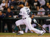 May 27, 2014, Los Angeles Angels of Anaheim vs Seattle Mariners - Robinson Cano Photographic Print by Otto Greule Jr