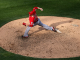 Jul 1, 2014, Los Angeles Angels of Anaheim vs Chicago White Sox - Garrett Richards Photographic Print by Jonathan Daniel