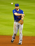May 7, 2014, New York Mets vs Miami Marlins - Daniel Murphy Photographic Print by Mike Ehrmann