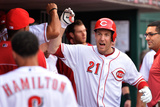Jun 4, 2014, San Francisco Giants vs Cincinnati Reds - Todd Frazier Photographic Print by Jamie Sabau
