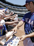 May 18, 2014, Toronto Blue Jays vs Texas Rangers - Yu Darvish Photographic Print by Brandon Wade