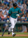 May 12, 2014, Tampa Bay Rays vs Seattle Mariners - Robinson Cano Photographic Print by Otto Greule Jr
