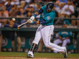 Jun 23, 2014, Boston Red Sox vs Seattle Mariners - Robinson Cano Photographic Print by Otto Greule Jr