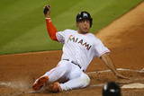 May 20, 2014, Philadelphia Phillies vs Miami Marlins - Giancarlo Stanton Photographic Print by Mike Ehrmann