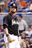 Jun 21, 2014, New York Mets vs Miami Marlins - Casey McGehee Photographic Print by Rob Foldy