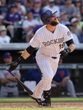 May 4, 2014, New York Mets vs Colorado Rockies - Charlie Blackmon Photographic Print by Doug Pensinger