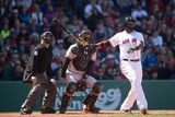 Apr 19, 2014, Baltimore Orioles vs Boston Red Sox - David Ortiz Photographic Print by Rob Tringali