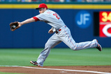 Apr 25, 2014, Cincinnati Reds vs Atlanta Braves - Todd Frazier Photographic Print by Kevin C. Cox