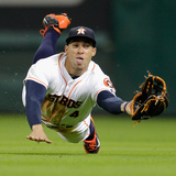 Jun 12, 2014, Arizona Diamondbacks vs Houston Astros - George Springer Photographic Print by Bob Levey