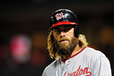 Jun 13, 2014, Washington Nationals vs St. Louis Cardinals - Jayson Werth Photographic Print by Jeff Curry