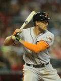 Jun 22, 2014, San Francisco Giants vs Arizona Diamondbacks - Hunter Pence Photographic Print by Christian Petersen