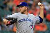 Jun 12, 2014, Toronto Blue Jays vs Baltimore Orioles - Mark Buehrle Photographic Print by Rob Carr