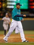 May 23, 2014, Houston Astros vs Seattle Mariners - Felix Hernandez Photographic Print by Otto Greule Jr