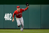 Apr 23, 2014, Los Angeles Angels of Anaheim vs Washington Nationals - Mike Trout Photographic Print by Patrick Smith
