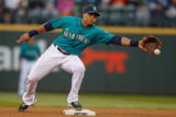 May 9, 2014, Kansas City Royals vs Seattle Mariners - Robinson Cano Photographic Print by Otto Greule Jr