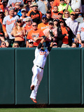 Mar 31, 2014, Boston Red Sox vs Baltimore Orioles - Xander Bogaerts, Nelson Cruz Photographic Print by Rob Carr