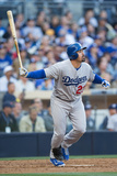Mar 30, 2013, Los Angeles Dodgers vs San Diego Padres - Adrian Gonzalez Photographic Print by Rob Leiter