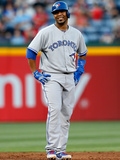 May 29, 2013, Toronto Blue Jays vs Atlanta Braves - Edwin Encarnacion Photographic Print by Kevin C. Cox