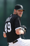 Mar 5, 2014, San Diego Padres vs Chicago White Sox - Chris Sale Photographic Print by Christian Petersen