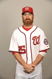 2014 Washington Nationals Photo Day: Feb 23 - Adam LaRoche Photographic Print by Tony Firriolo