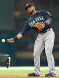 May 3, 2014, Seattle Mariners vs Houston Astros - Robinson Cano Photographic Print by Bob Levey
