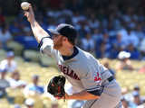 Jul 2, 2014, Cleveland Indians vs Los Angeles Dodgers - Cody Allen Photographic Print by Stephen Dunn