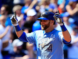 Apr 9, 2014, Tampa Bay Rays vs Kansas City Royals - Alex Gordon Photographic Print by Jamie Squire