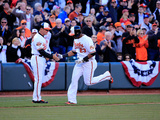 Mar 31, 2014, Boston Red Sox vs Baltimore Orioles - Bobby Dickerson, Nelson Cruz Photographic Print by Rob Carr