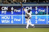 Jun 17, 2014, Colorado Rockies vs Los Angeles Dodgers - Yasiel Puig Photographic Print by Stephen Dunn