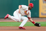 Apr 26, 2014, Pittsburgh Pirates vs St. Louis Cardinals - Matt Carpenter Photographic Print by Dilip Vishwanat