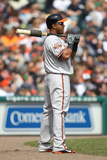 Apr 6, 2014, Baltimore Orioles vs Detroit Tigers - Nelson Cruz Photographic Print by John Grieshop