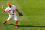 May 17, 2014, Chicago White Sox vs Houston Astros - Jose Altuve Photographic Print by Scott Halleran