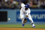 Apr 24, 2014, Philadelphia Phillies vs Los Angeles Dodgers - Dee Gordon Photographic Print by Jeff Gross