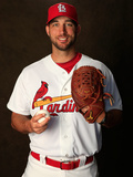 Feb 24, 2014, St. Louis Cardinals Photo Day - Adam Wainwright Photographic Print by Rob Carr