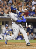Jun 21, 2014, Los Angeles Dodgers vs San Diego Padres - Hanley Ramirez Photographic Print by Denis Poroy
