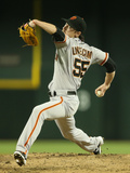 Jun 20, 2014, San Francisco Giants vs Arizona Diamondbacks - Tim Lincecum Photographic Print by Christian Petersen