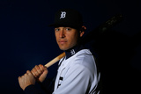 Detroit Tigers Photo Day: Feb 23, 2014 - Ian Kinsler Photographic Print by Kevin C. Cox