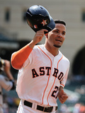 May 17, 2014, Chicago White Sox vs Houston Astros - Jose Altuve Photographic Print by Scott Halleran