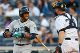 Jun 2, 2014, Seattle Mariners vs New York Yankees - Robinson Cano Photographic Print by Mike Stobe