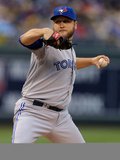 May 1, 2014, Toronto Blue Jays vs Kansas City Royals - Mark Buehrle Photographic Print by Ed Zurga