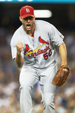 Jun 26, 2014, St Louis Cardinals vs Los Angeles Dodgers - Adam Wainwright Photographic Print by Joe Scarnici