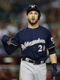 Jun 17, 2014, Milwaukee Brewers vs Arizona Diamondbacks - Jonathan Lucroy Photographic Print by Christian Petersen