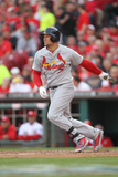 Mar 31, 2014, St. Louis Cardinals vs Cincinnati Reds - Matt Holliday Photographic Print by John Grieshop