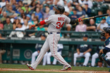 Jun 25, 2014, Boston Red Sox vs Seattle Mariners - David Ortiz Photographic Print by Otto Greule Jr