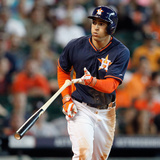 Jun 29, 2014, Detroit Tigers vs Houston Astros - George Springer Photographic Print by Bob Levey
