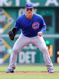Sep 15, 2013, Chicago Cubs vs Pittsburgh Pirates - Anthony Rizzo Photographic Print by Joe Sargent